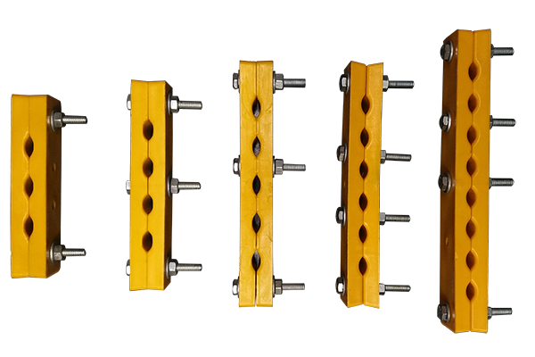 Rope Clamp with 3-Hole